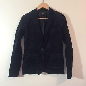 Apt. 9 Black Velvet Blazer {Size 4}